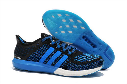 Mens Aidas Boost Clima Chill Black - Blue France